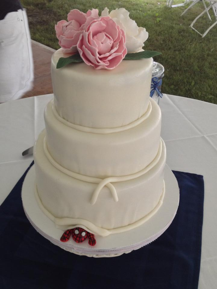 Martha & Dave's Wedding Cake