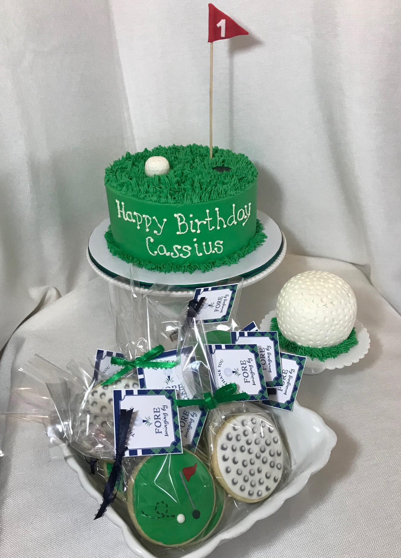 1st Birthday Golf theme